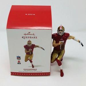 Hallmark COLIN KAEPERNICK Ornament  NFL 49ers